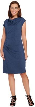 Styled By Joe Zee Styled by Joe Zee Knit Dress with Side Ruching Detail