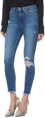Paige Margot High Waist Crop Skinny Jeans