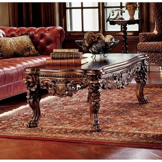 Toscano Design The Lord Raffles Grand Hall Lion Leg Coffee Table