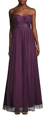 Jenny Yoo Women's Annabelle Convertible Tulle Gown