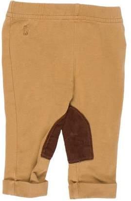 Ralph Lauren Girls' Embroidered Cuffed Leggings