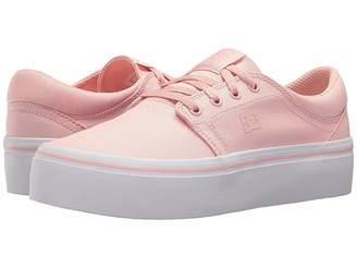 DC Trase Platform TX Women's Skate Shoes