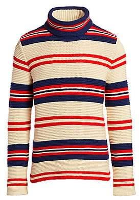 Gucci Men's Stripe Wool-Blend Knit Sweater