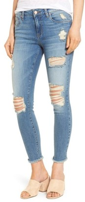 Women's Bp. Ripped Crop Skinny Jeans $65 thestylecure.com