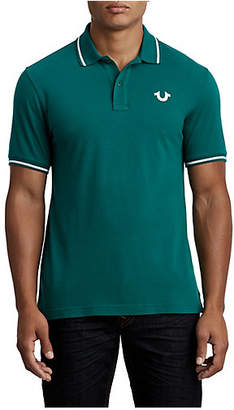 True Religion MENS CLASSIC BUDDHA POLO SHIRT
