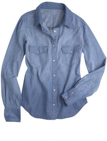 Delia's Lightweight Denim Shirt