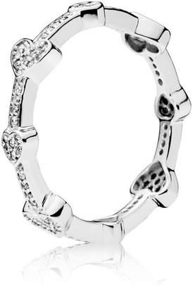 Pandora Alluring Hearts Ring