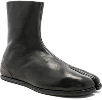 Maison Margiela Leather Tabi Boots