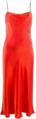 Bec & Bridge flared slip midi dress