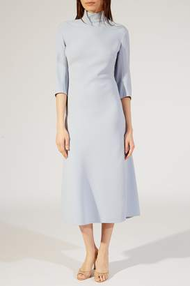 KHAITE The Sabrina Dress in Sky Blue