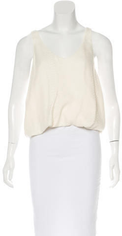 3.1 Phillip Lim 3.1 Phillip Lim Sleeveless Jacquard Top