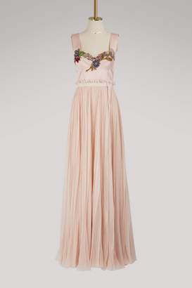 Alexander McQueen Silk maxi dress
