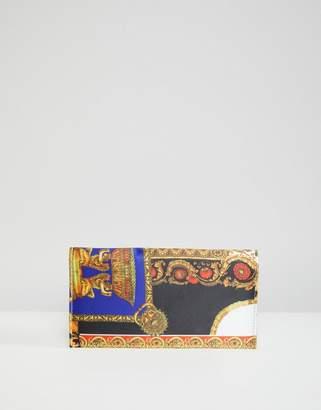 Asos Design DESIGN scarf print purse
