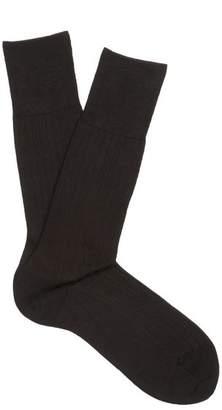 Falke N2 Cashmere Blend Socks - Mens - Black
