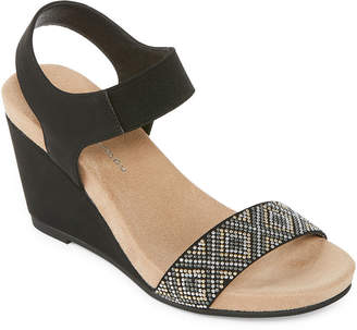 Laundry by Shelli Segal CL BY CL by Talia Beaded Wedge Sandals