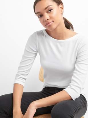 Gap Modern Elbow Sleeve Ballet-Back T-Shirt