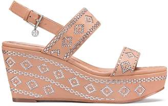 Tory Burch BLAKE ANKLE-STRAP WEDGE SANDAL