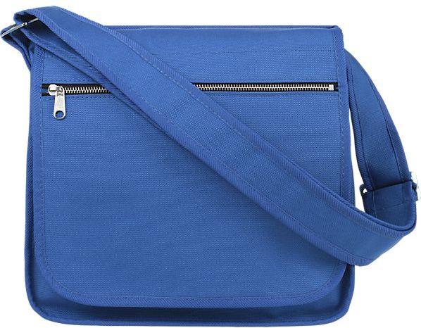 Marimekko Olkalaukku Blue Canvas Bag.