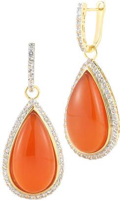 Alor Delatori by Delatori By 18K Over Silver 22.00 Ct. Tw. Gemstone Drop Earrings