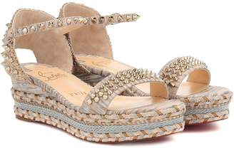 Christian Louboutin Madmonica 60 espadrille sandals