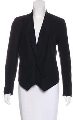 Rebecca Minkoff Silk Long Sleeve Blazer