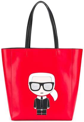Karl Lagerfeld Ikonik Soft Shopper