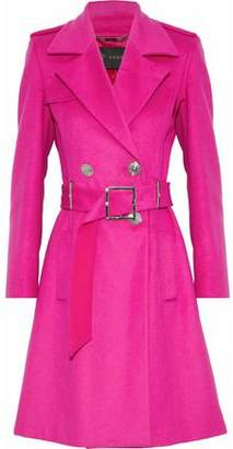 Versace Wool And Cashmere-Blend Trench Coat