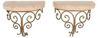 Decor Antique French Wall Brackets