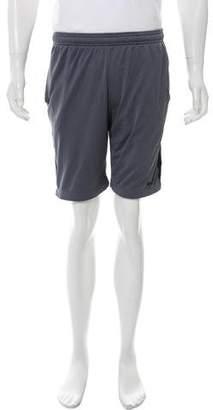 Nike Mesh Drawstring Jogger Shorts
