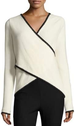 Derek Lam 10 Crosby Cross Front Sweater