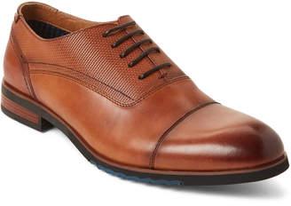 Steve Madden Cognac Lourdes Leather Oxfords