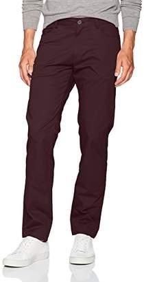 Calvin Klein Men's Slim Fit 4-Pocket Sateen Pants