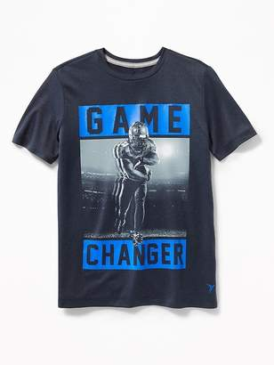 Old Navy Go-Dry Eco Graphic Tee for Boys