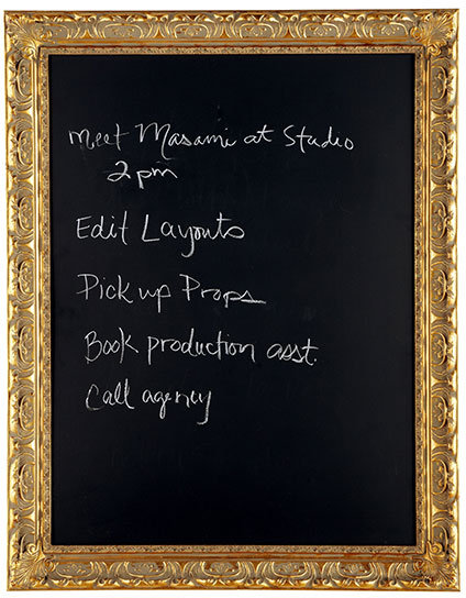 Going For Baroque Framed Chalkboard