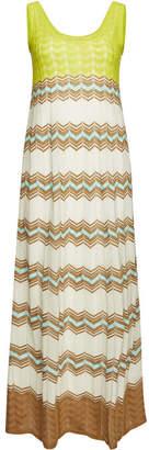 M Missoni Knit Maxi Dress with Cotton