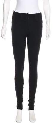 Givenchy Mid-Rise Skinny Leggings