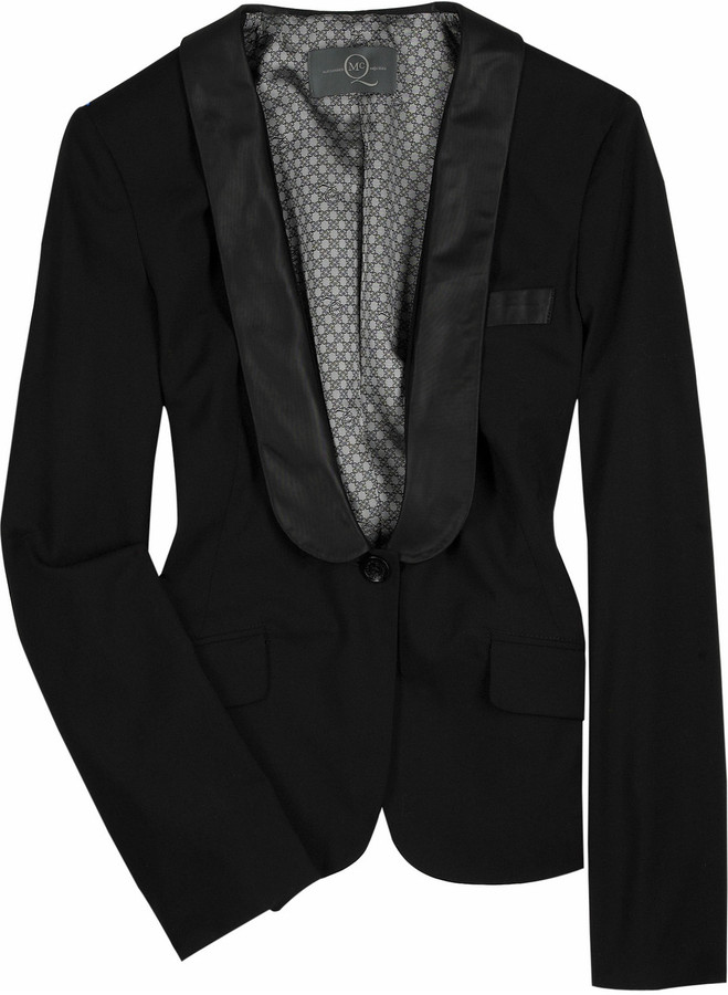McQ Wool blend tuxedo jacket
