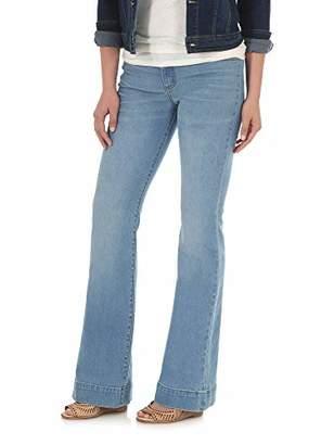 Wrangler Women's Retro Mae Mid Rise Stretch Wide Leg Jean