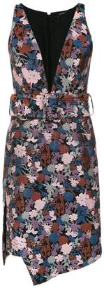 Tufi Duek floral print short dress