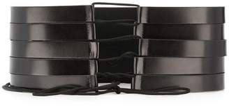 Ann Demeulemeester multiple waist belt