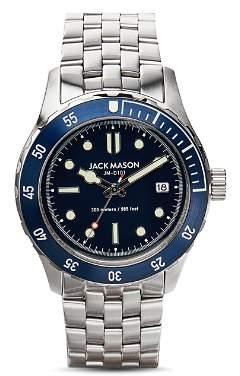 Jack Mason 3-Hand Diving Watch, 42mm