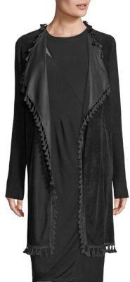 Elie Tahari Ariana Tassel Merino Wool Sweater $498 thestylecure.com