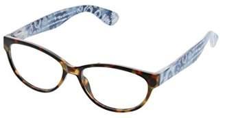 Cat Eye Peepers Women's Dream Weaver - Tortoise/Blue 2497175 Cateye Reading Glasses