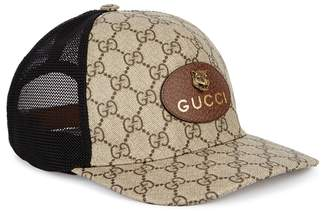 95a598616dd at Harvey Nichols · Gucci GG Supreme Monogrammed Cap