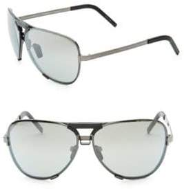 Porsche Design P'8678 67MM Interchangeable Aviator Sunglasses