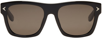 Givenchy Black Square Sunglasses $325 thestylecure.com
