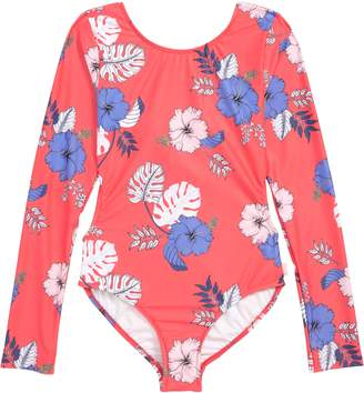 Seafolly Tropical Vibes Two-Piece Long Sleeve Swimsuit