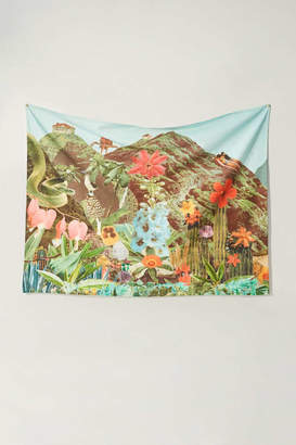 Urban Outfitters Ted Feighan For Tropical Landscape Tapestry