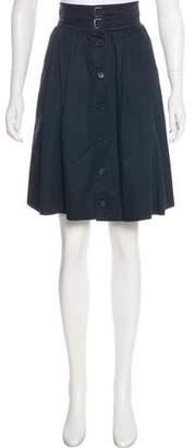 Saint Laurent Vintage Knee-Length A-Line Skirt