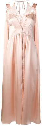 Stella McCartney sleeveless satin dress